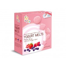 100% Natural Yogurt Melts Mixed Berry (Blueberry, Strawberry & Rapsberry)