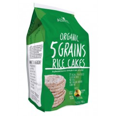 Organic Rice Cakes 5 Grains