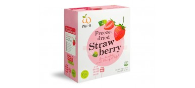 Wel-B 100% Natural Freeze-dried Strawberry