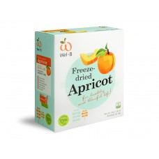 Wel-B 100% Natural Freeze-dried Apricot 30g