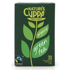 Nature's Cuppa Organic Green Tea (30 bags)