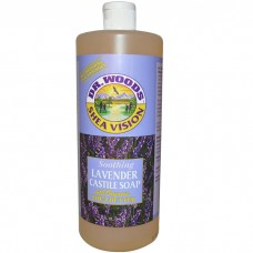 Dr. Woods Shea Vision Soothing Lavender Castile Soap 32oz/ 946ml