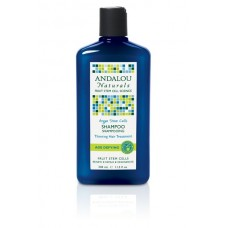 Andalou Naturals Age Defying Thinning Hair shampoo With Argan Fruit Stem Cells - 340ml