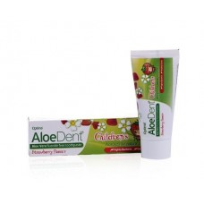 Aloe Dent Children's Strawberry Toothpaste - Fluoride Free 純天然兒童草莓牙膏(不含氟化物)