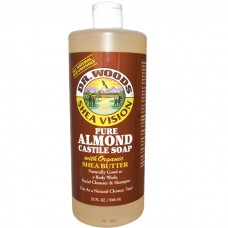 Dr. Woods Pure Almond Castile Soap 32oz/ 946ml