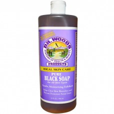 Dr. Woods Shea Vision Pure Black Soap 32oz/ 946ml