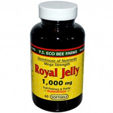 Y.S. Eco Bee Farms Royal Jelly 1000mg 60s 蜂王漿 60粒