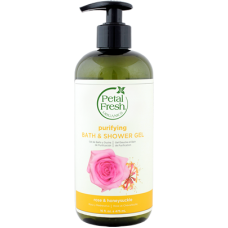 Petal Fresh Organics Rose & Honeysuckle Bath & Shower Gel 475ml