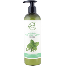 Petal Fresh Organics Rosemary & Mint Hand & Body Lotion 355ml