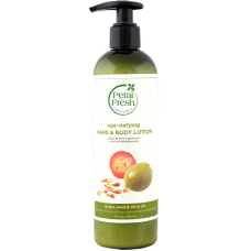 Petal Fresh Organics Grape Seed & Olive Oil Hand & Body Lotion 355ml