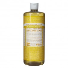 Dr. Bronner's Citrus Orange Liquid Soap - 32oz (946ml)