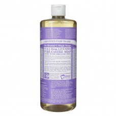 Dr. Bronner's Lavender Liquid Soap - 32oz (946ml)