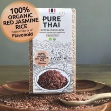 Certified Organic Red Jasmine Rice (1 KG)
