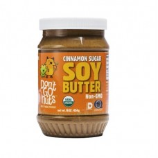 Don't Go Nuts Organic Cinnamon Soy Butter 有機黃豆醬 - 玉桂味 16 oz (454g)
