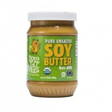 Don't Go Nuts Organic Pure Unsalted Organic Soy Butter 有機黃豆醬 - 原味無鹽無糖(16 oz (454g)
