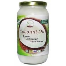 Organic Extra Virgin Cold Pressed Coconut Oil